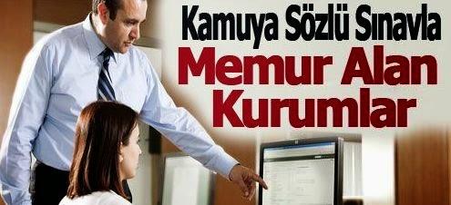 kamu iş ilanları