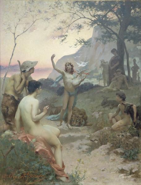 """Orphée"" by Paul Edouard Rosset-Granger"