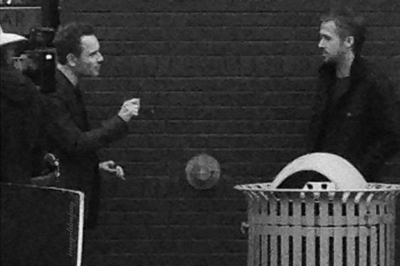 Майкл Фассбендер замечен на съемочной площадке нового фильма Терренса Малика