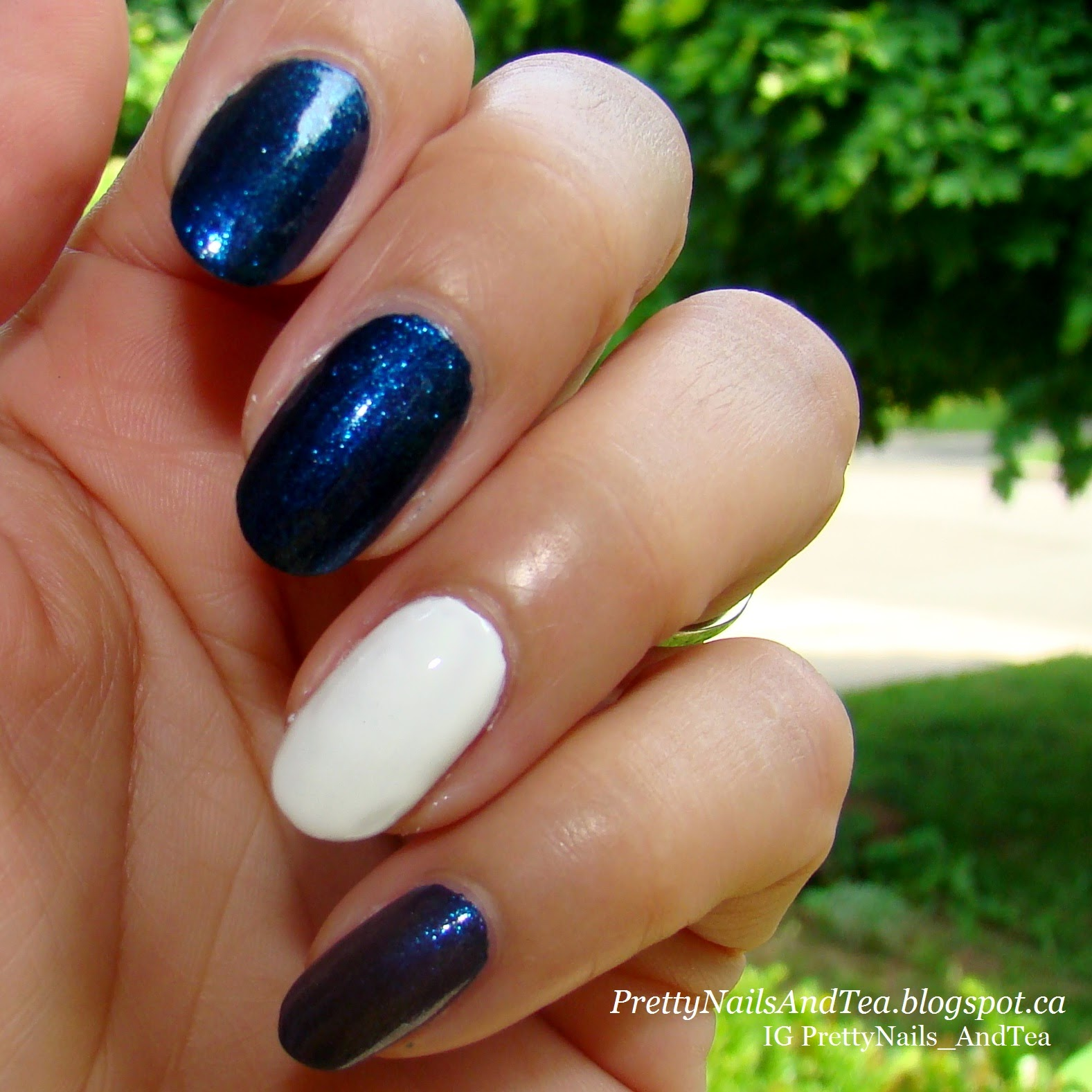 Nautical ~ Sparkly Navy Blue