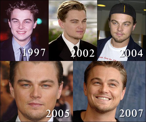 Même si les goûts de Leo se tournent d'avantage vers les jeunettes aux silhouettes longilignes et aux jambes d'1.50 mètres, et qu'il n'est accessoirement plus un cœur à prendre, rien ne nous empêche de rêver ! C'est ce que nous vous propose de faire en passant en revue l'évolution physique de Leonardo Dicaprio au cours des 41 dernières années.