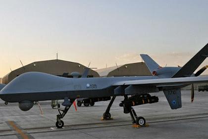 Drone Terbaru Inggris Dilengkap Misil Hellfire Mulai Beroperasi di Afghanistan