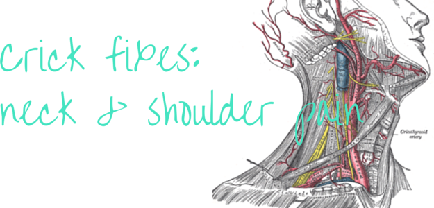 ways to treat neck and shoulder pain