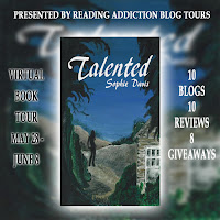 Talented by Sophie Davis book tour