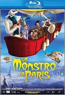 Download - Um Monstro em Paris - BluRay 1080p + 720p  Dual Áudio ( 2013 )
