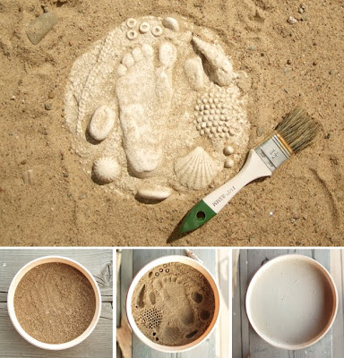 handmade%2Bplaster%2Bfossils Prehistoric Plants and Fossils