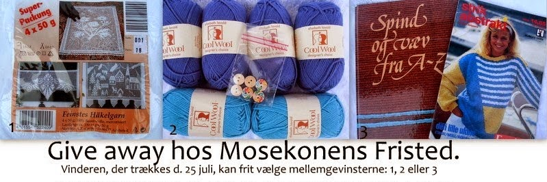 Give away hos Mosekonens Fristed