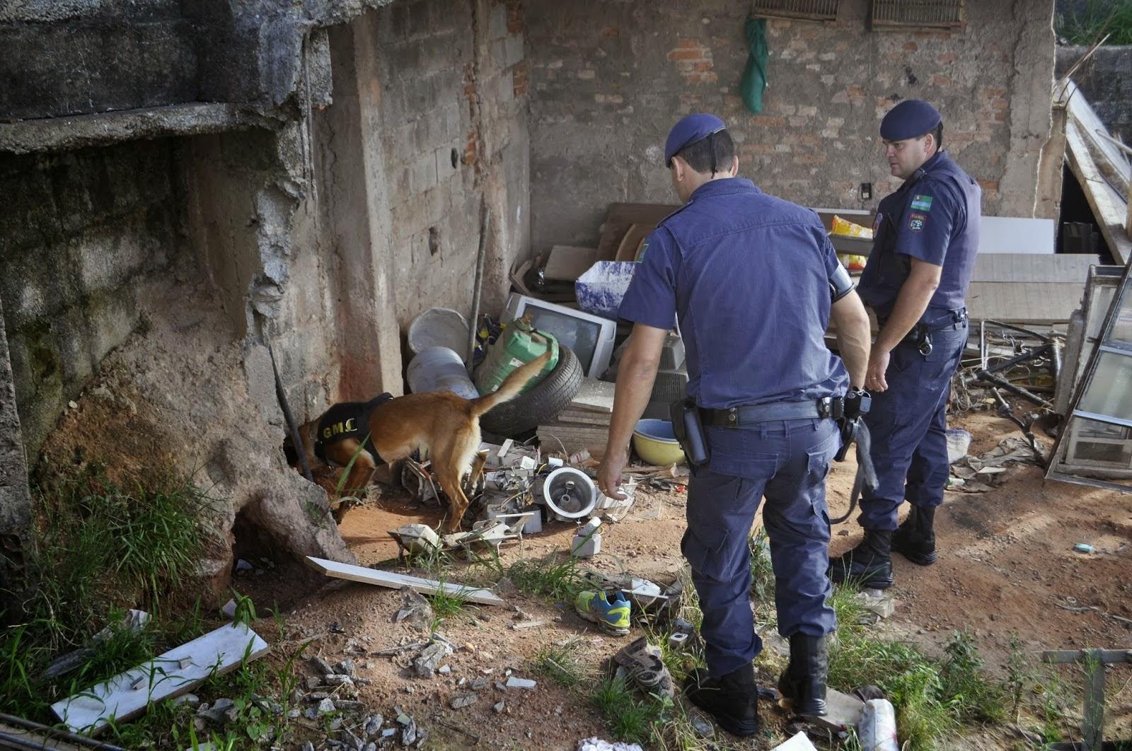 ação de mandados de prisão no Jardim São Camilo e Jardim Tarumã
