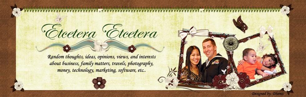 Etcetera Etcetera