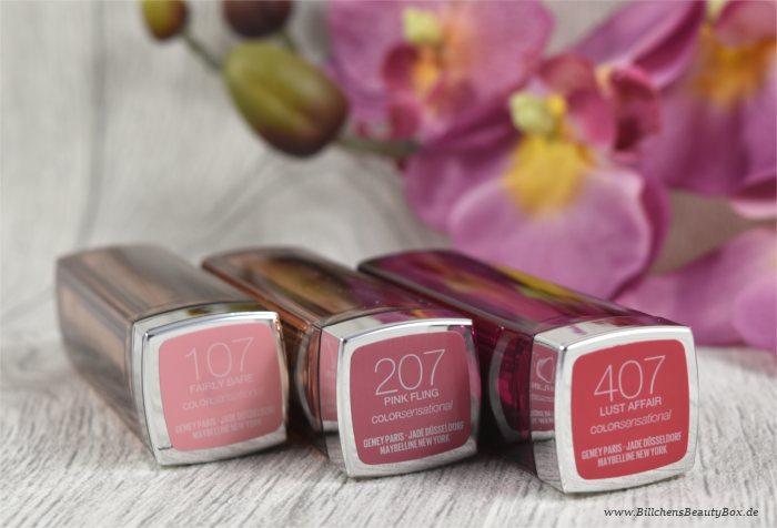 Maybelline The Blushed Nudes Lippenstift