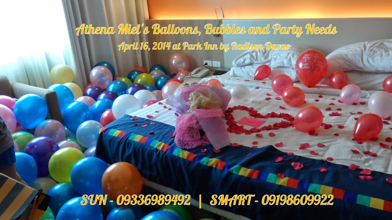 Want To Surprise A Newly Wed Your Fiance Friend Or Someone Who Is Very Special You Athena Miel S Balloons Bubbles And Party Needs Will Be