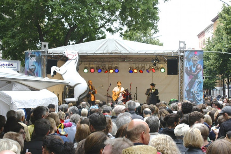 Bergmannstrassefest 2013 música