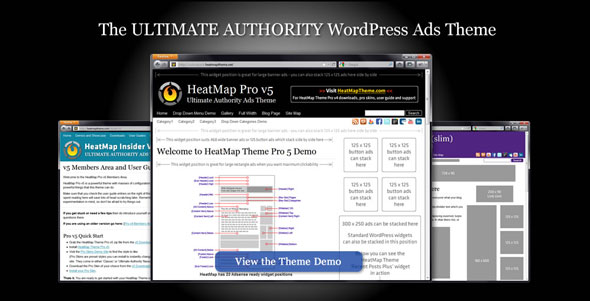 HeatMap Pro 5.1 - Ultimate WP Authority Adsense Theme