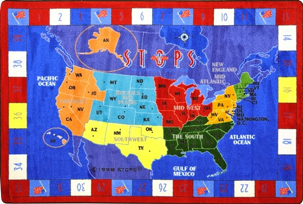 RTR Kids Rugs: Make Learning Fun with Educational Game Rugs