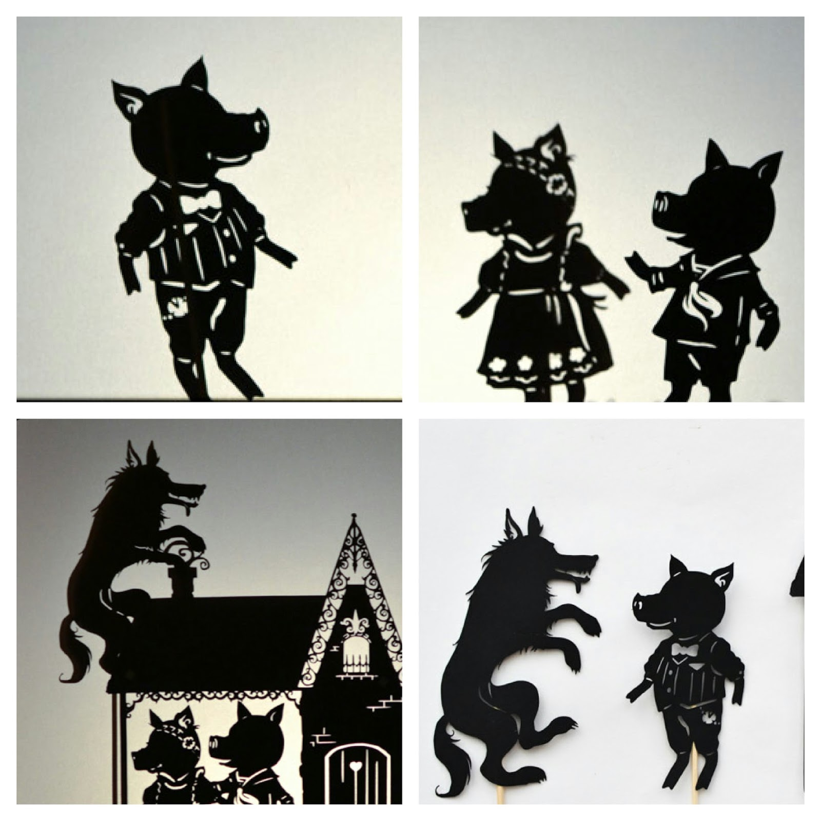 shadow puppet theatre It's show time 7 shine the torch in the box and start your show my daughter made the three little pigs and retold the story to her grandma such a fun way to.