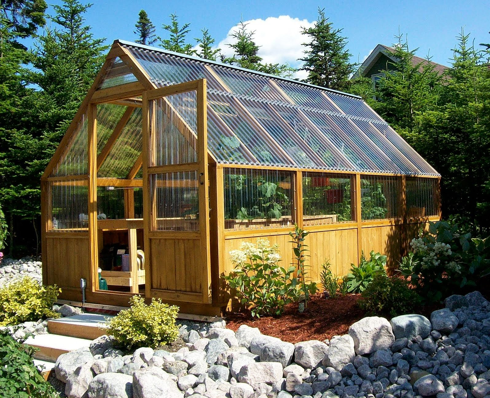 13 great diy greenhouse ideas instant knowledge for Greenhouse house plans