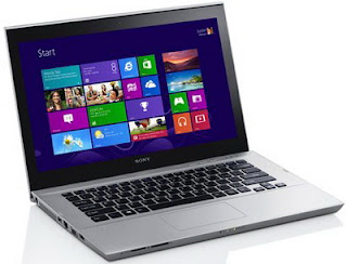 Review Sony VAIO T Series SVT14124CXS Windows 8 touchscreen ultrabook
