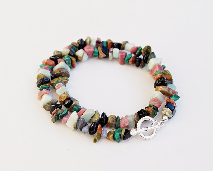 Wire Wrapped Jewelry and More: DIY: Bead Crimping: Necklace - Bracelet