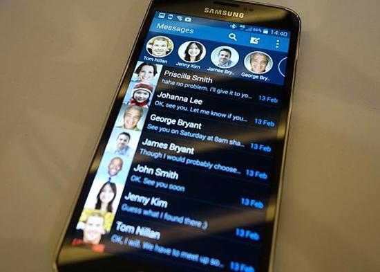 Samsung Galaxy S5 - Skrin