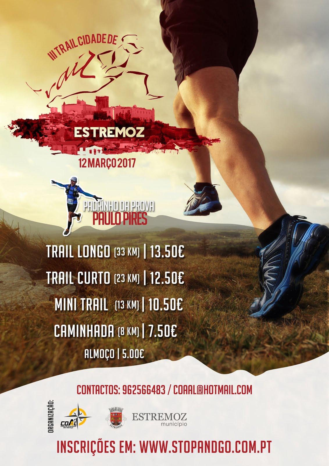 Trail de Estremoz, 12/3/2017