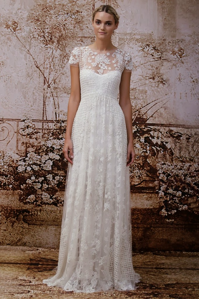 Monique Lhuillier 2014 Fall Bridal Collection