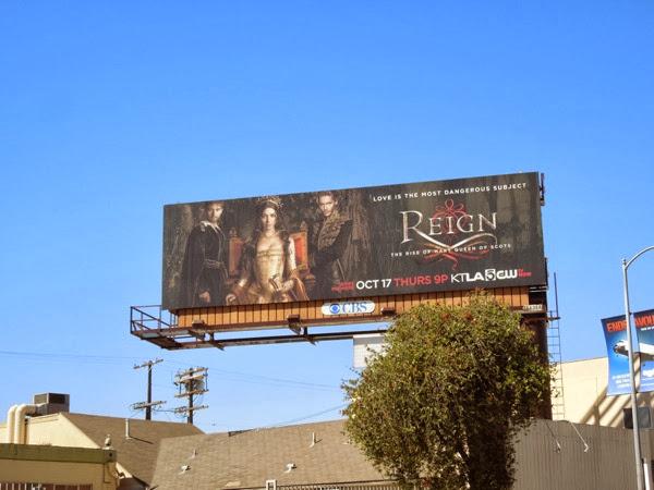 Reign billboard ad