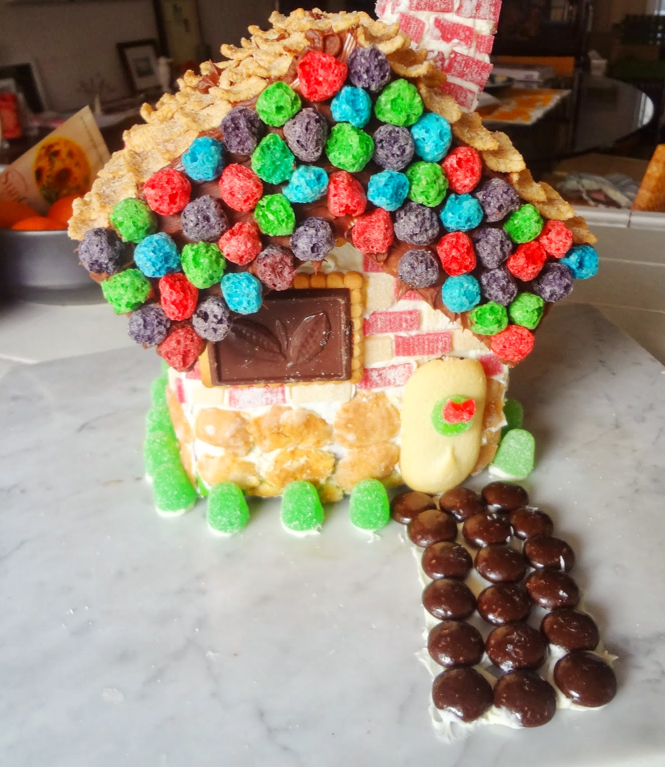 Candy Christmas House