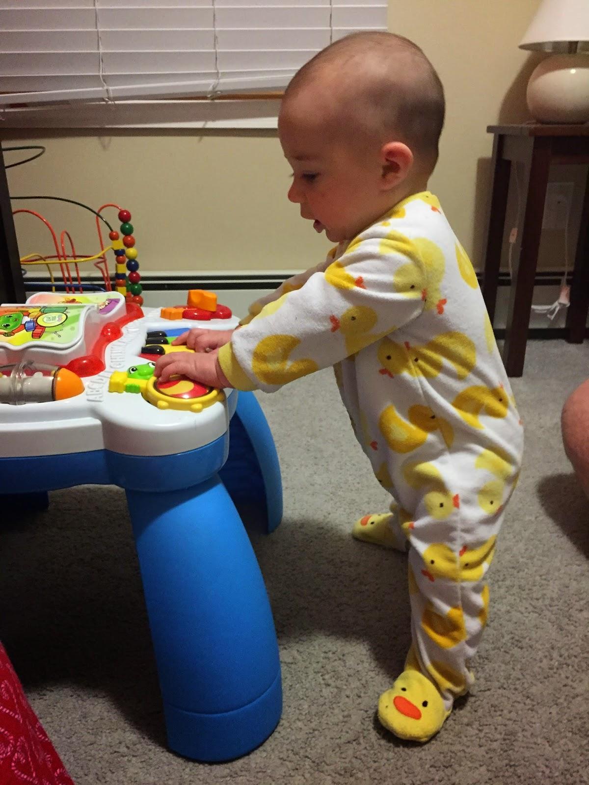 baby standing