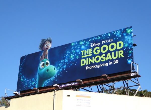 Good Dinosaur film billboard