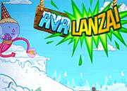 Hora de aventura Avalanza juego