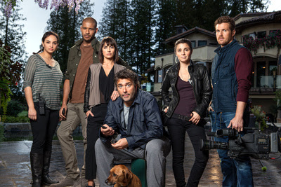 The cast of Lifetime TV's UnREAL