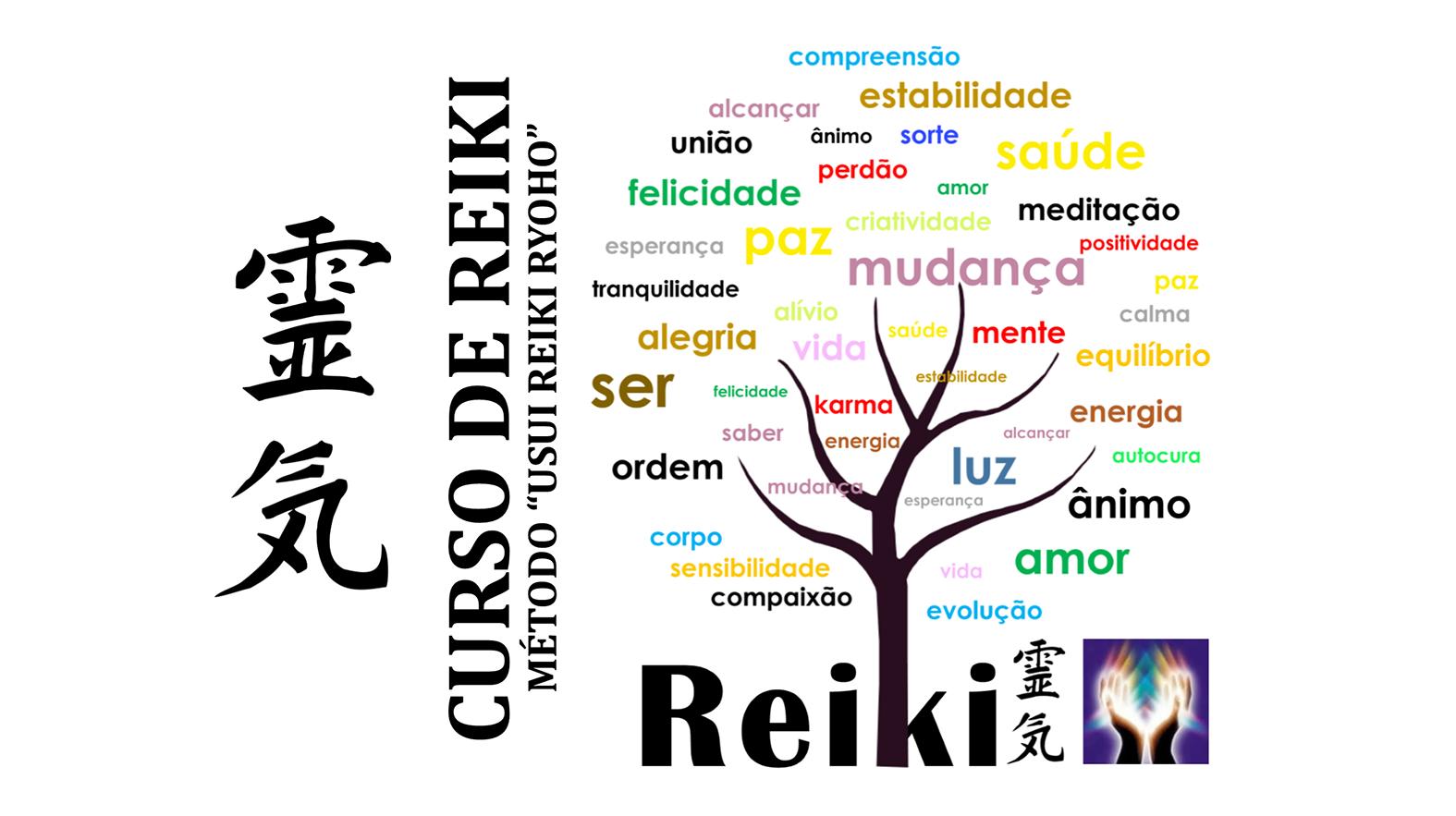 Curso de Reiki - Nível I - Faça sua Inscrição!