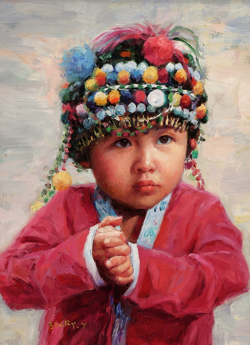 Barry Yang | pintor retrato Chino