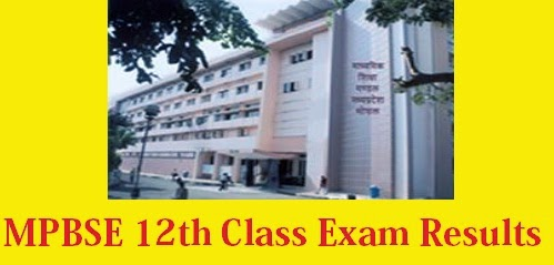 MPBSE 12th Class Exam Result