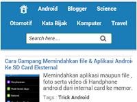 Cara Menampilkan Iklan Google Adsense Di Versi Perangkat Mobile
