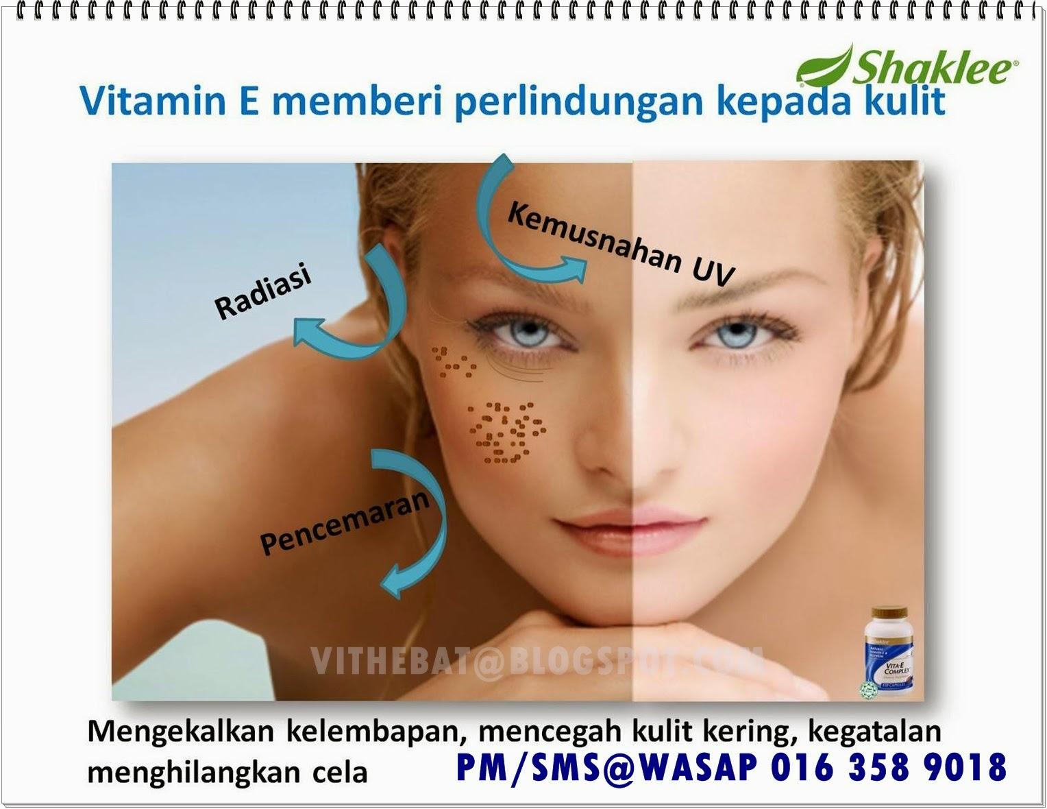 vitamin e untuk kulit