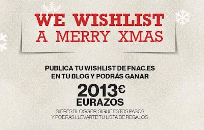 WISHLIST XMAS FNAC 2012