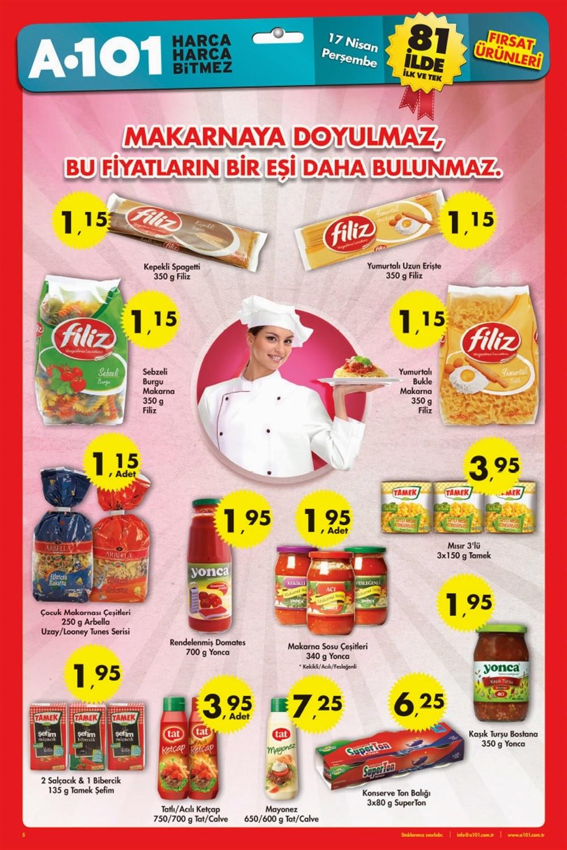 A101 17 Nisan Perşembe 2014 Aktüel Ürünler Katalogu,A101 - Süpermarketler - Güncel Broşür, Katalog, İndirimler Turşular indirim broşürü