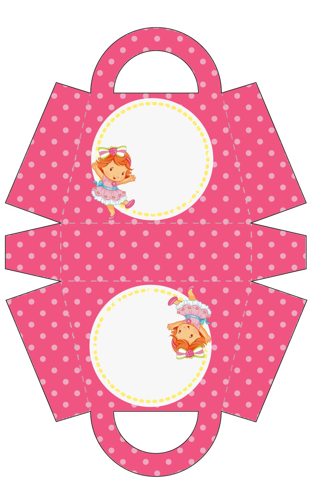 Strawberry shortcake frame