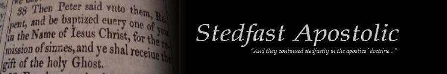 Stedfast Apostolic