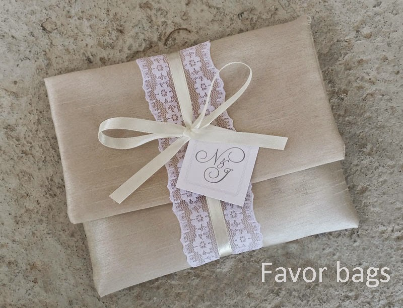 Favor bags for wedding