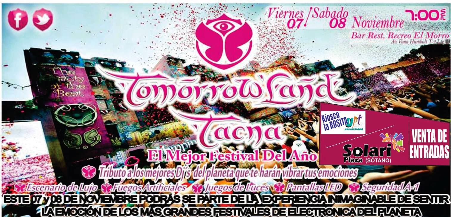 tomorrowland tacna