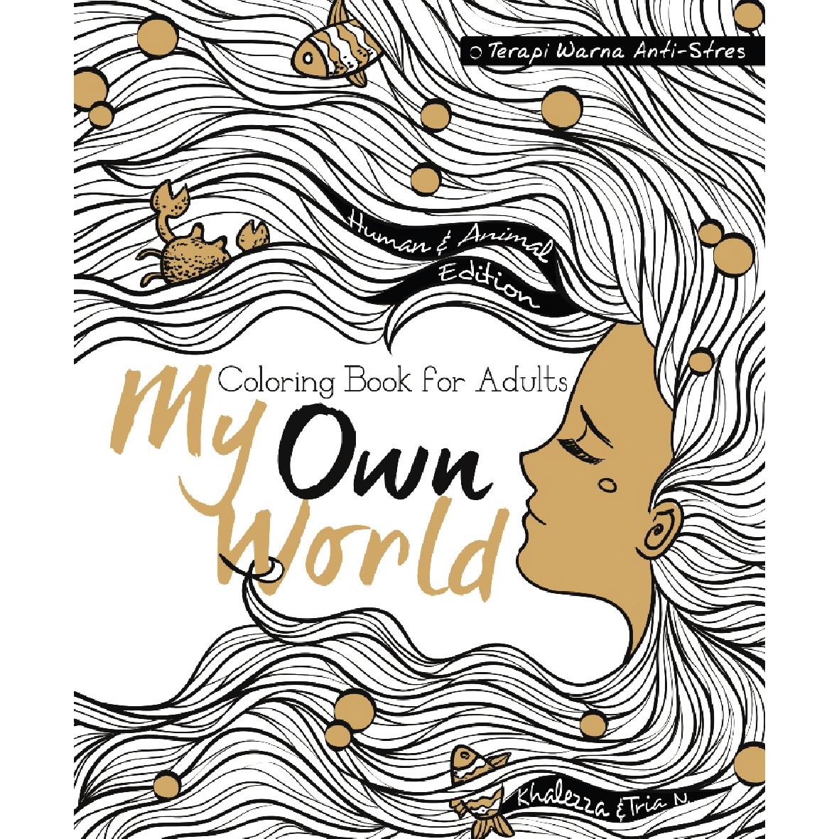 Ini Nih Tampilan Buku My Own World Edisi 1