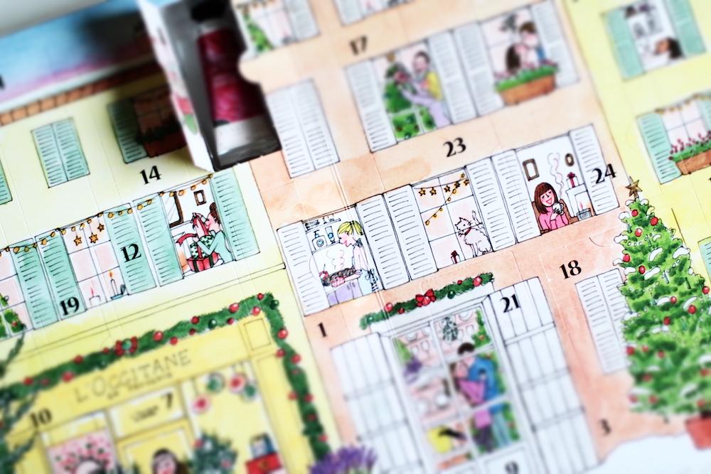 l'occitane calendrier de l'avent 2015 kanako