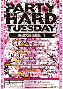 4/15 PARTY HARD TUESDAY@渋谷AMRAX