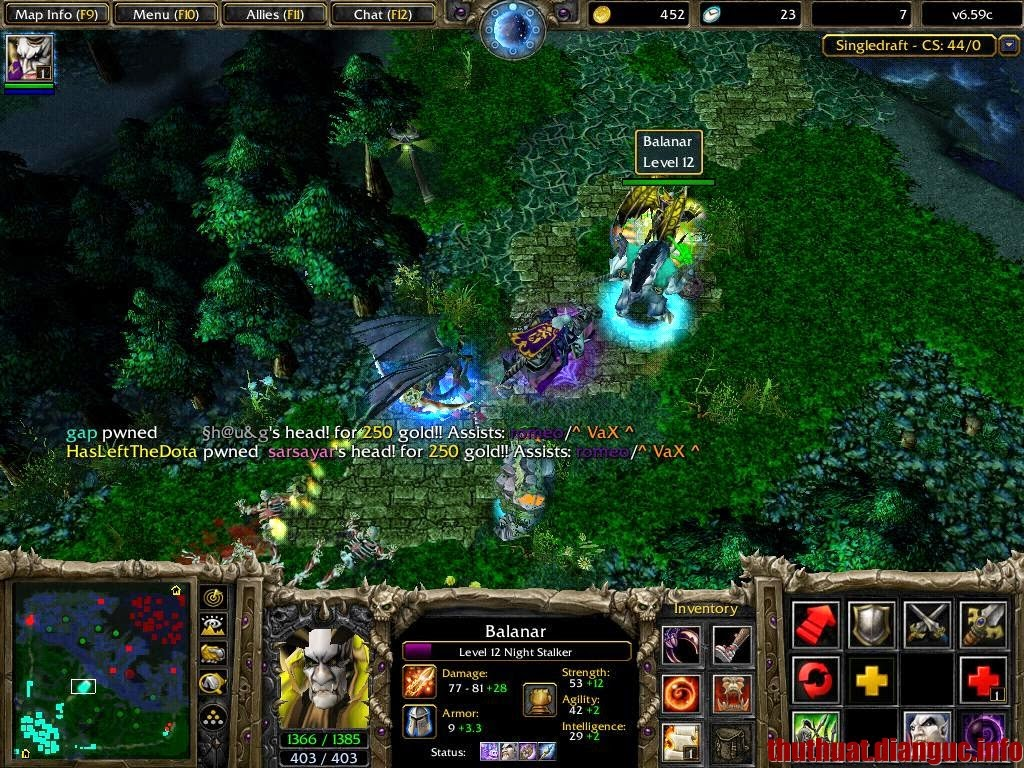 Warcraft 3 1.24 full crack cho pc máy tính laptop win xp win 7