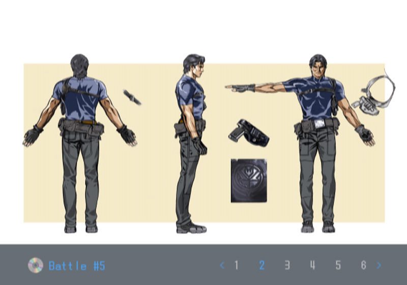 Death by Degrees Alan Smithee Character Design
