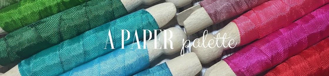 A Paper Palette