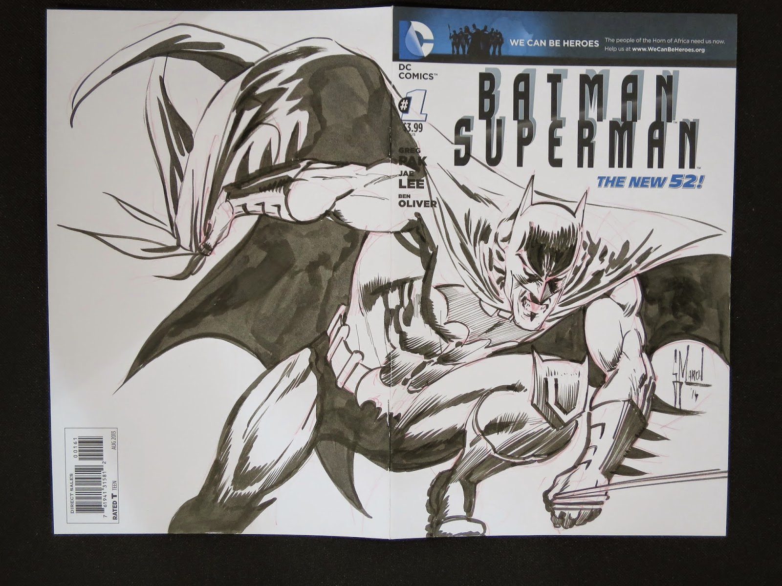 Commissions from last weekend at the PHILADELPHIA WIZARD WORLD Comic Con by Guillem March