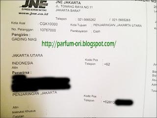 Pengiriman Parfum ke Jakarta Utara, DKI Jakarta